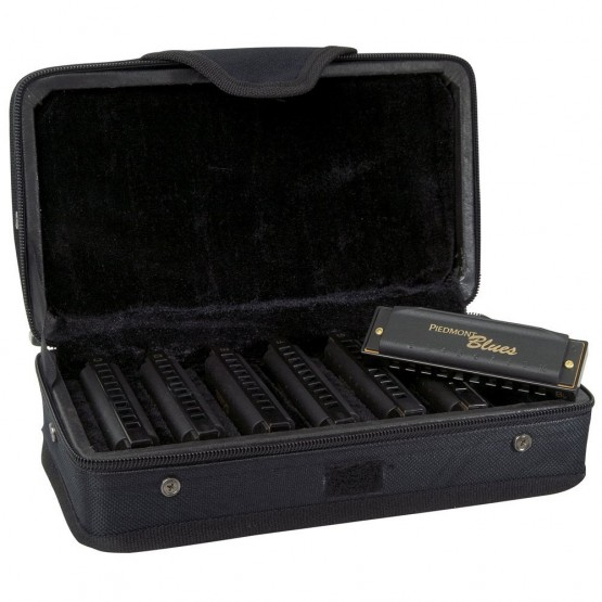 Hohner Piedmont Blues Harmonica 7 Pack