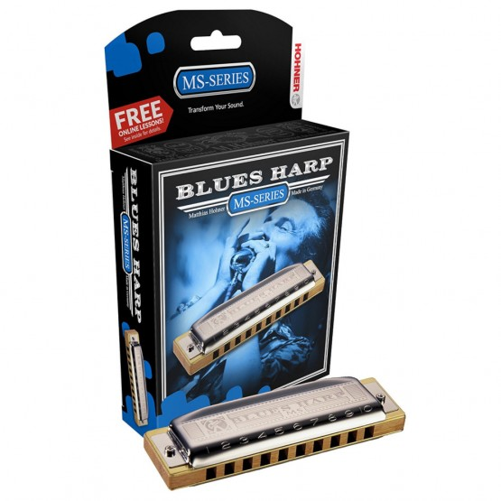 Hohner MS Series Blues Harp