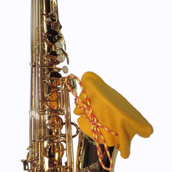 Alto Sax Bell Cover in Gold