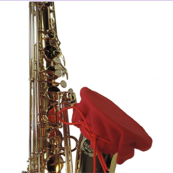Alto Sax Bell Cover in Red