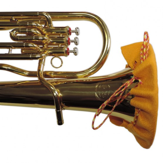 Euphonium Bell Cover in Gold