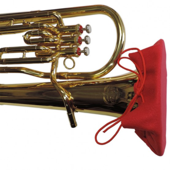 Euphonium Bell Cover in Red