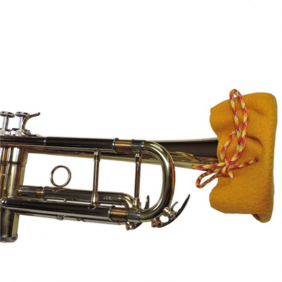 Trumpet Bell Cover in Gold