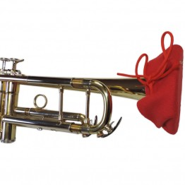 Trumpet Bell Cover in Red