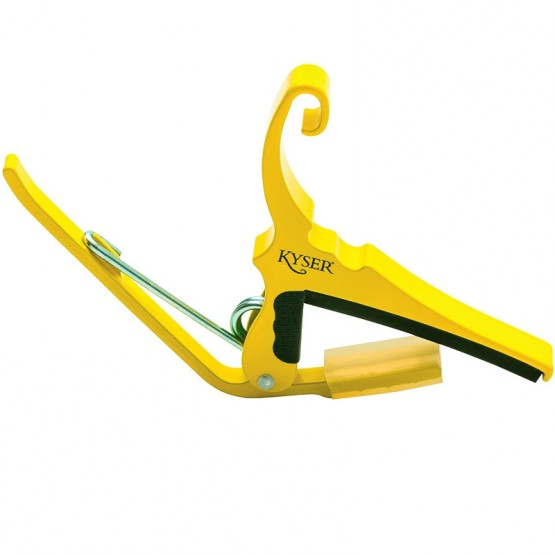Kyser Acoustic Guitar Capo in Yellow