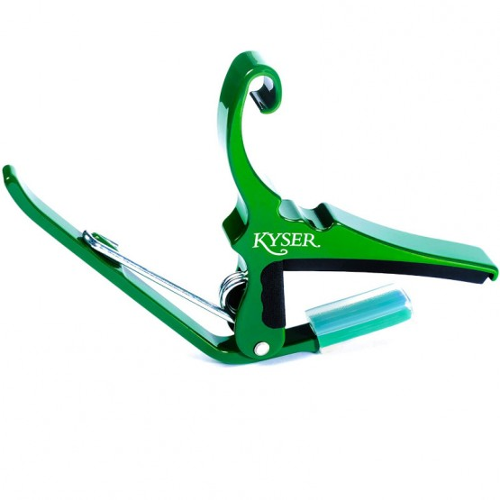 Kyser Acoustic Guitar Capo in Emerald Green