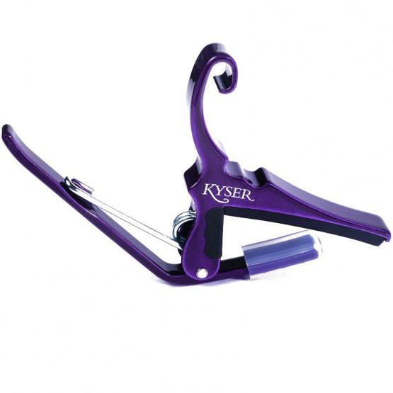Kyser Acoustic Guitar Capo in Purple
