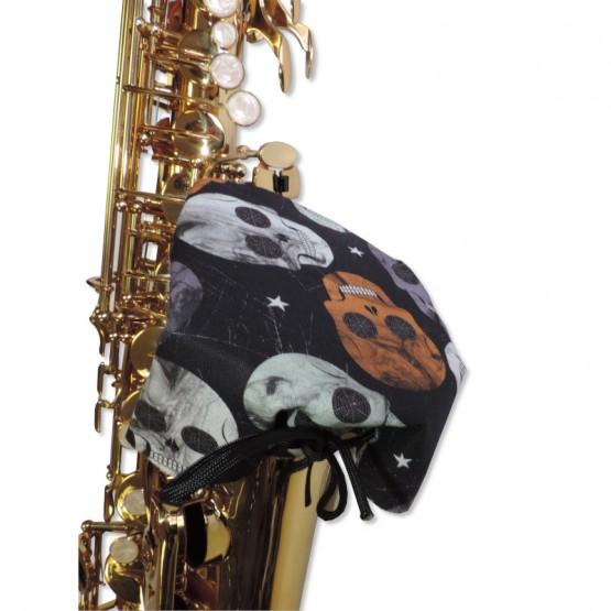 IBAM Saxophone Bell Cover in Skull