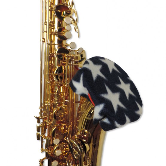 Saxophone Bell Cover in Stars
