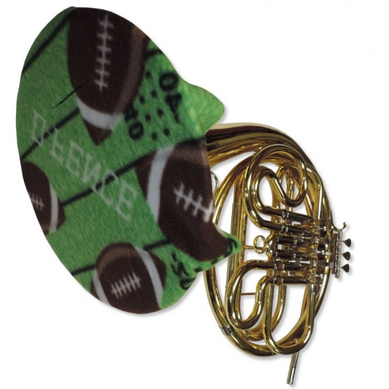 French Horn Bell Cover in Football