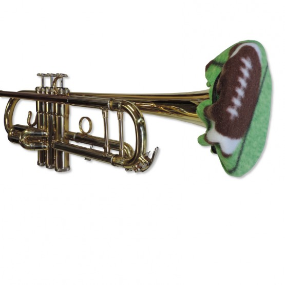 Trumpet Bell Cover in Football