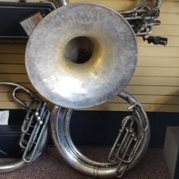 Conn Silver Sousaphone